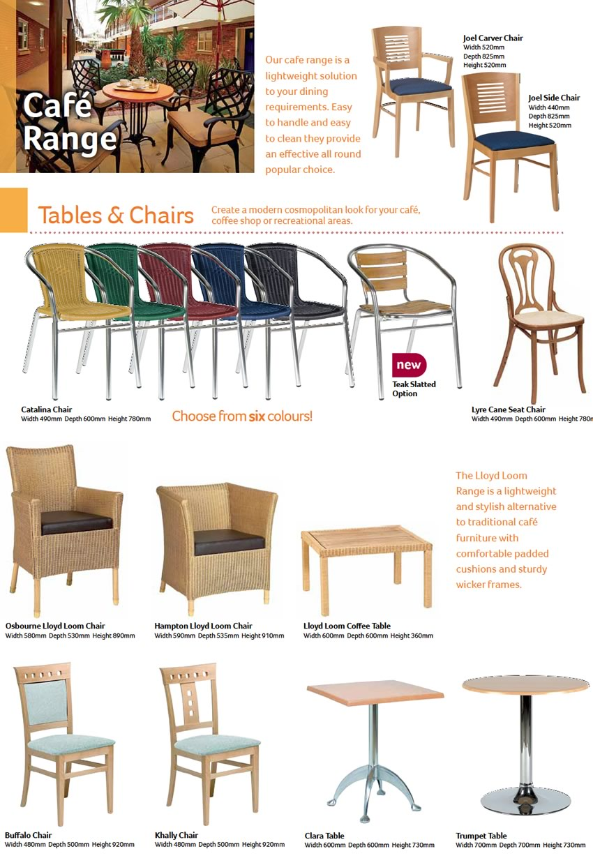 Cafeteria Style Furniture