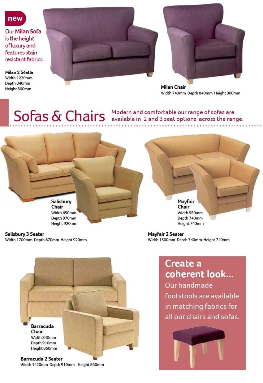 Sofas and Chairs